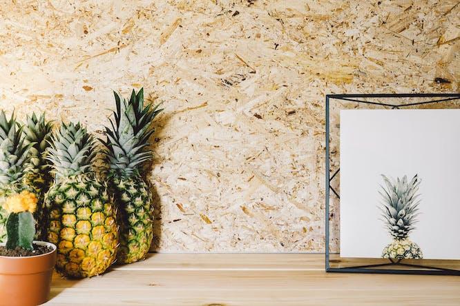 ananas woondecoratie