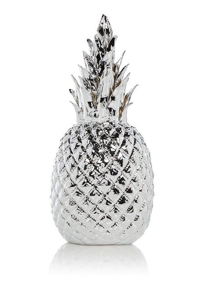 pols potten ananas van porselein