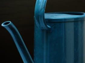 tuinaccessoires design in het blauw