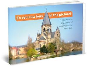 e-book zo zet u uw kerk in de picture cover